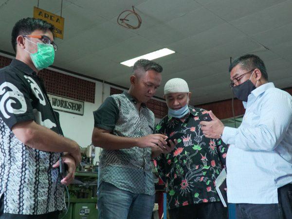 110 Hand Washer Buatan ITP Akan Diserahkan ke Baznas Kota Padang Besok