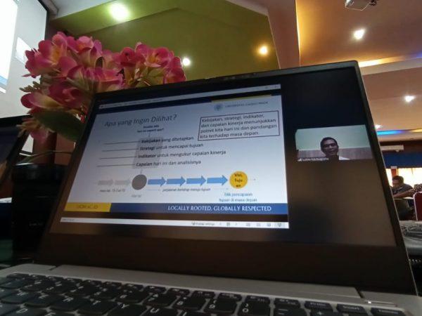 55 Dosen ITP Ikuti Workshop Penyusunan Borang Akreditasi 9 Standar Secara Virtual