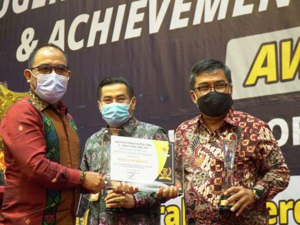 ITP Raih Peringkat II Anugerah Keterbukaan Informasi Publik Sumbar 2020